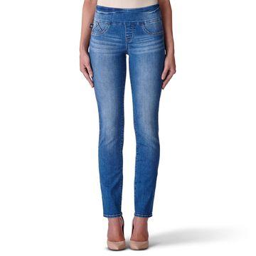 Women's' Rock & Republic Fever Midrise Pull-On Straight Leg Jeans