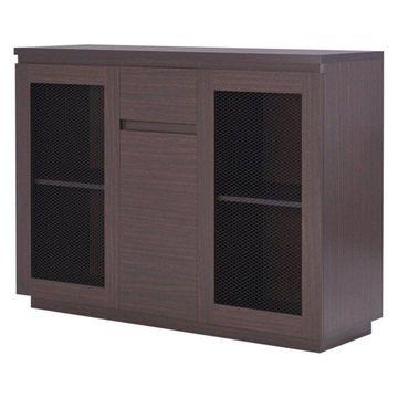 Furniture of America Devo Server in Walnut