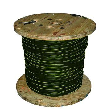 Southwire BERGEN 500-ft 1/0-1/0-1/0 Aluminum URD Service Entrance Cable (By-the-Roll) | 55415009