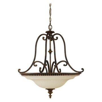 Feiss 4-Light Uplight Chandelier