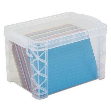 Advantus Super Stacker Card File Box