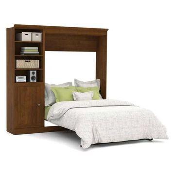Bestar Versatile By Bestar 84'' Full Wall Bed Kit, Tuscany Brown