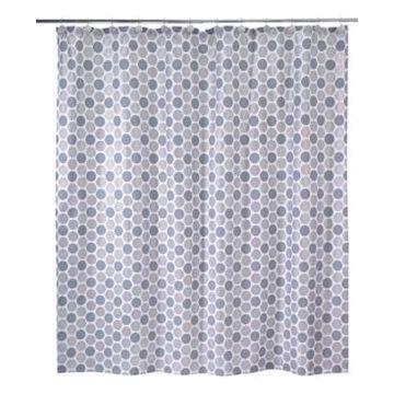 Avanti Dotted Circle Shower Curtain Bedding