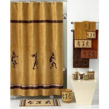 Avanti Kokopelli Shower Curtain Bedding