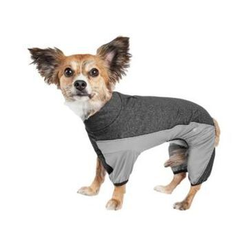 Pet Life Active 'Chase Pacer' Performance Two Toned Full Body Warm Up