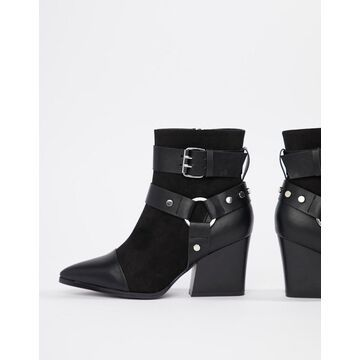 Truffle Collection Pointed Heeled Boots