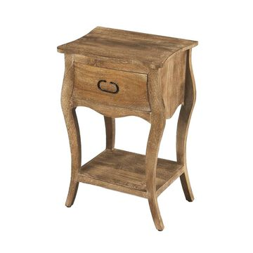 Butler Rochelle 1 Drawer Crafted Nightstand - Natural