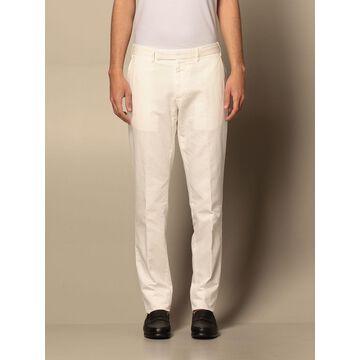 Ermenegildo Zegna trousers in cotton and linen