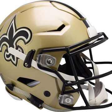 Riddell New Orleans Saints Speed Flex Authentic Football Helmet