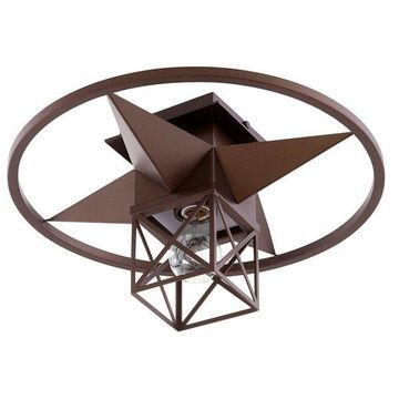 Quorum Transitional 17 inch Ceiling Light in Oiled Bronze