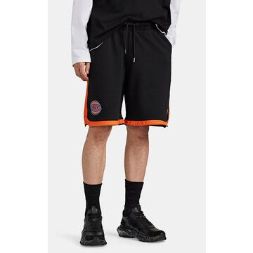 Marcelo Burlon County of Milan New York Knicks Cotton French Terry Shorts