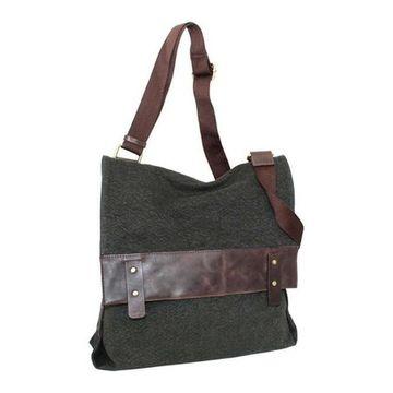Nino Bossi Women's Trixy Messenger Bag Washed Green - US Women's One Size (Size None)