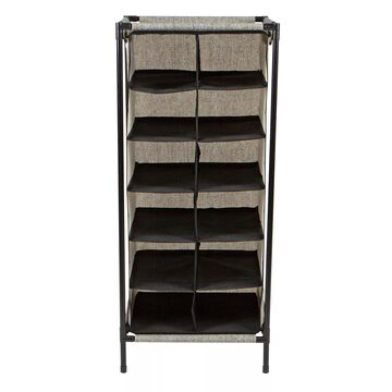 Simplify 12-Section Shoe Organizer