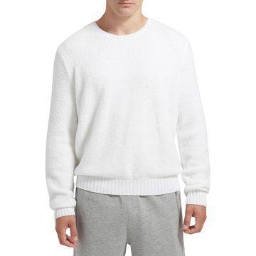 Men's Chenille Crewneck Sweater