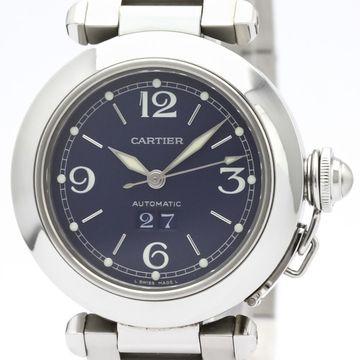 Cartier Pasha Blue Steel Watches