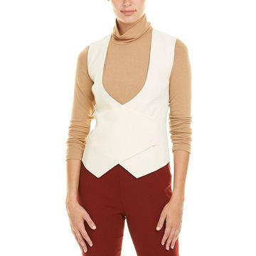 Akris Womens Wool Vest
