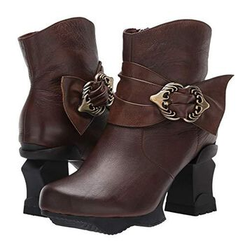 L'Artiste by Spring Step Natia (Dark Brown) Women's Boots