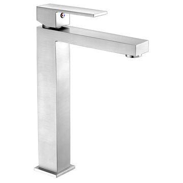 ANZZI Enti Brushed Nickel 1-handle Vessel Bathroom Sink Faucet | L-AZ096BN