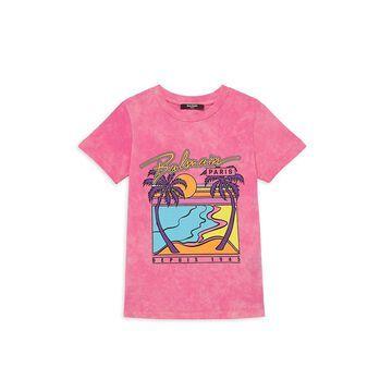 Balmain Little Girl's & Girl's Graphic T-Shirt