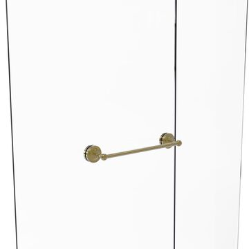 PR-41-SM-18-UNL Prestige Regal Collection 18 in. Shower Door Towel Bar, Unlacquered Brass