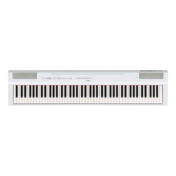 Yamaha P125 88 Weighted Key Digital Piano with CF Sound Engine and Damper Resonance DSP, White