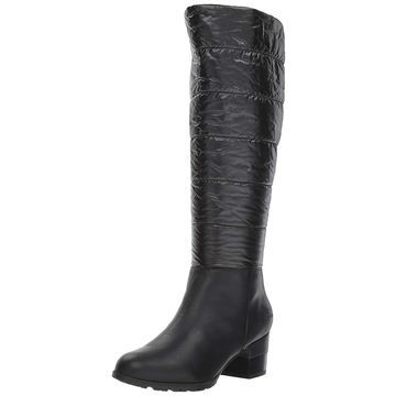 Jambu Womens Mayfair Leather Almond Toe Knee High Rainboots