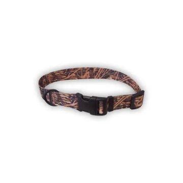 Remington Adjustable Mossy Oak Nylon Collar, Small, Green