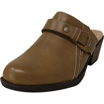 Earth Origins Women's Andria Faux Suede Clogs
