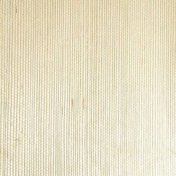 Kenneth James Martina Cream Grasscloth Wallpaper