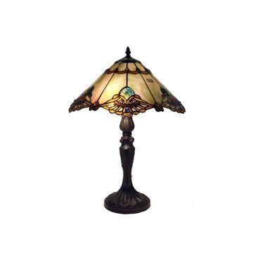 Warehouse Of Tiffany Metal Table Lamp
