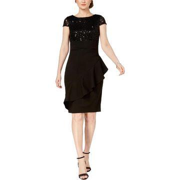 Jessica Howard Womens Sheath Dress Party Sheath
