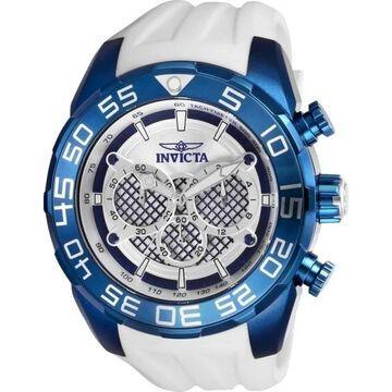 Invicta Men's 26300 'Speedway' White Silicone Watch