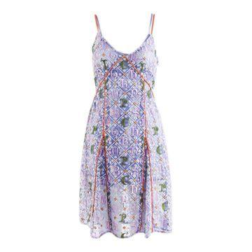 Mary Katrantzou Purple Polyester Dresses