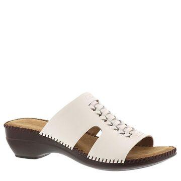 Auditions Rhonda Women's White Sandal 6.5 N