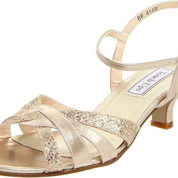 Touch Ups Womens Jane Open Toe Formal Ankle Strap