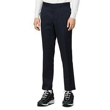 Sandro Pluton Straight Leg Slim Fit Pants