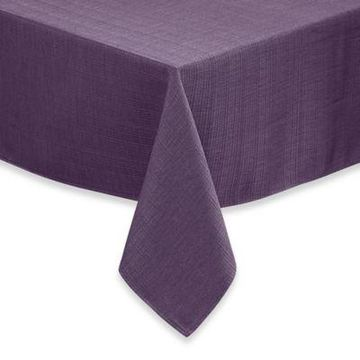 Noritake Colorwave 60-Inch x 102-Inch Oblong Tablecloth in Plum