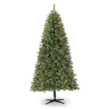 7Ft Pre-Lit Willow Pine Artificial Christmas Tree, Clear Lights by Ashland   Michaels