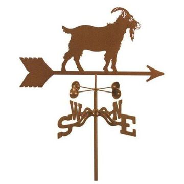 EZ Vane Goat Weathervane With Roof Mount