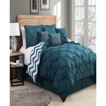 Etta 7 Pc Queen Comforter Set Bedding