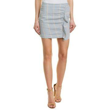 3X1 Womens Jane Ruffle Skirt