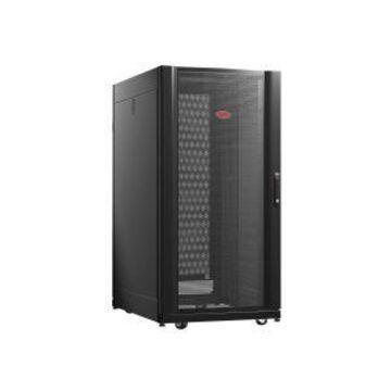 APC NetShelter AV Enclosure with Sides and 10-32 Threaded Rails - Rack