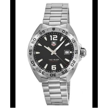 Tag Heuer Formula 1 Quartz 41mm Black Dial Steel Men's Watch WAZ1112.BA0875 WAZ1112.BA0875