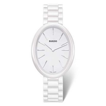 Rado R53092012 Womens Esenza Ceramic White Quartz Watch