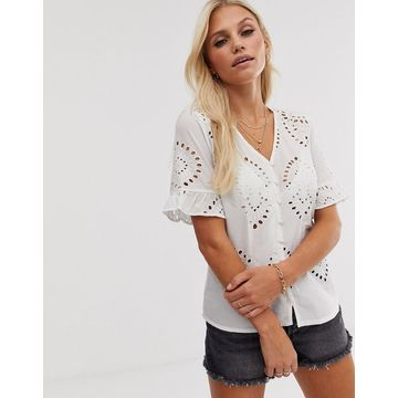 Y.A.S broderie anglais top