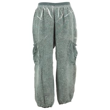 Undercover \N Green Silk Trousers