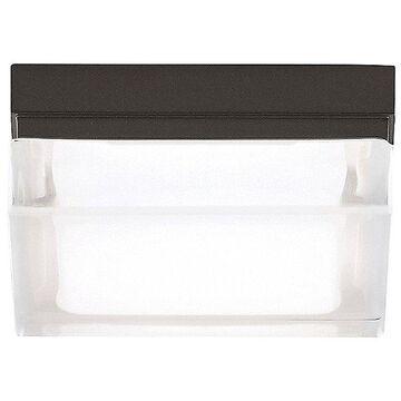 Tech Lighting Boxie Flushmount Light - Color: Bronze - Size: Small - 700BXSZ-LED3