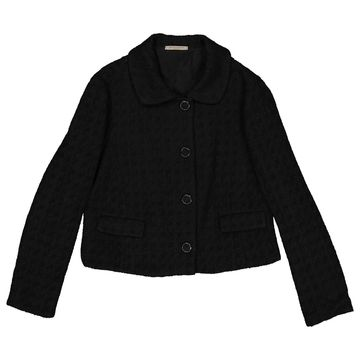 Bottega Veneta Black Wool Jackets