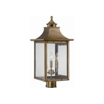 Acclaim Lighting 8317 St. Charles 3 Light Outdoor Post Light