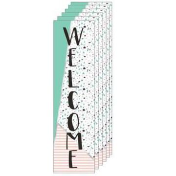 Eureka Simply Sassy Welcome Banners, 6ct.